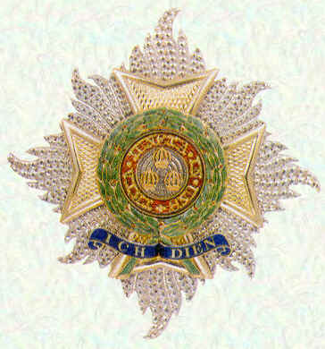 Star of Knight Grand Cross of the Most Honourable Order of the Bath