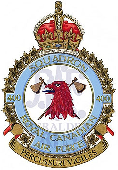 No 400 Squadron Badge