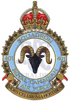 No 401 Squadron Badge