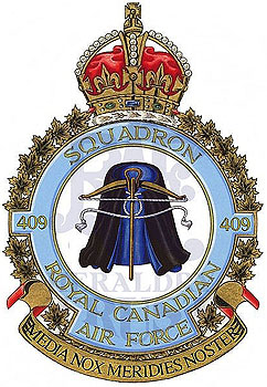 No 409 Squadron Badge