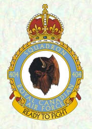 No 404 Squadron Badge