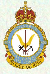 No 407 Sqadron Badge