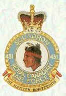 No 431 Squadron Badge
