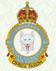 No 437 Squadron Badge