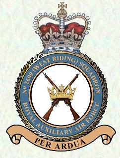No 2609 Squadron Royal Auxiliary Ar Force Regiment badge