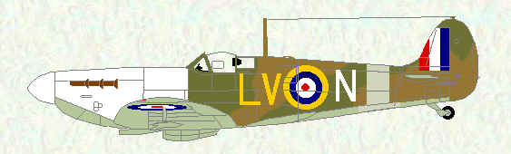 Spitfire I of No 57 Operational Training Unit (mid 1941)