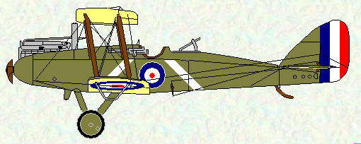 DH 9 of No 103 Squadron