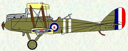 DH 9 of No 108 Squadron