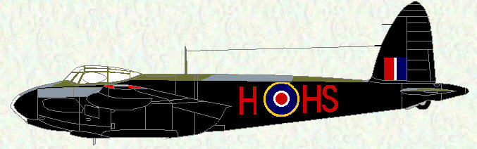 Mosquito IV of No 109 Sqn.