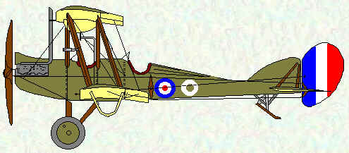 BE2d of No 10 Squadron