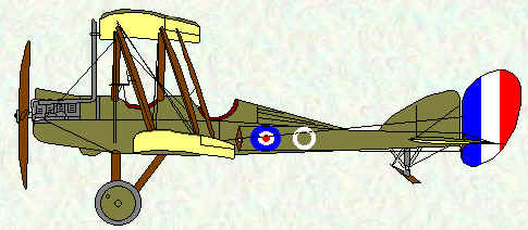 BE2e of No 10 Squadron
