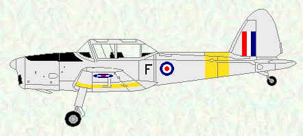 Chipmunk T Mk 10 of No 114 Squadron