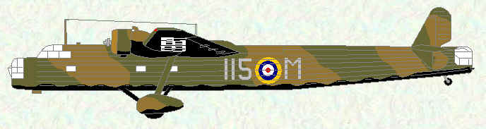 Harrow of No 115 Squadron