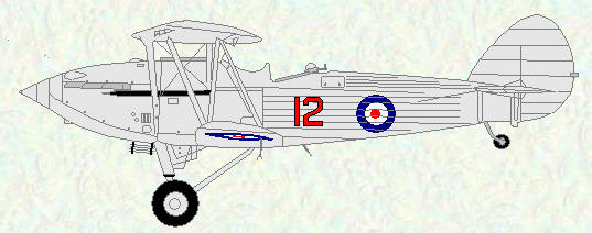 Hawker Hind of No 12 Squadron