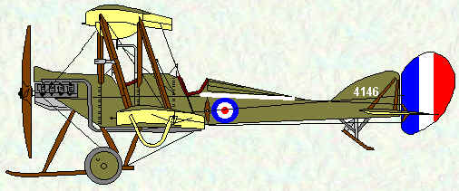 BE2c of No 12 Squadron