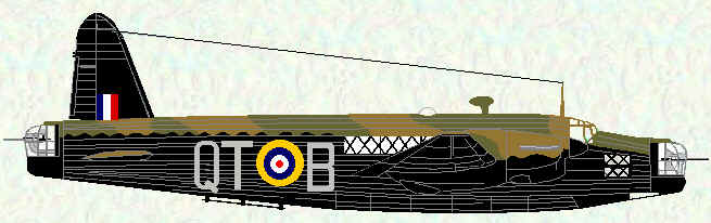 Wellington II of No 142 Squadron