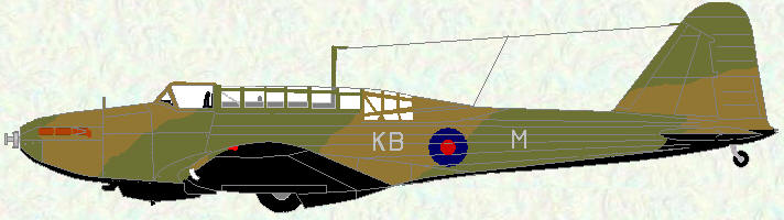 Battle I of No 142 Squadron