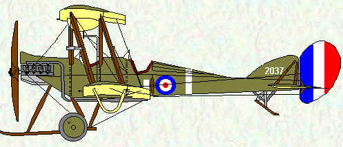 BE2c of No 16 Squadron