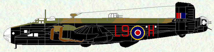 Halifax III of No 190 Squadron