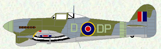 Typhoon IB of No 193 Squadron (original canopy)