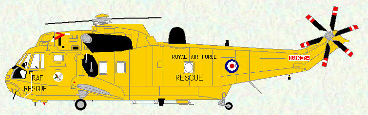 Sea King HAR Mk 3 of No 202 Squadron
