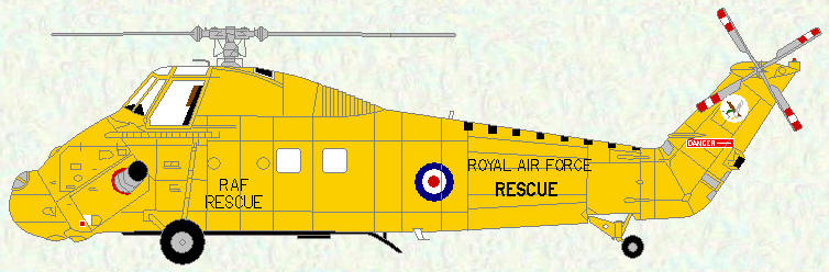 Wessex HAR Mk 2 of No 202 Squadron