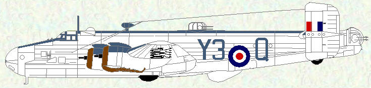 Halifax VI of No 202 Squadron (Coastal Command scheme)