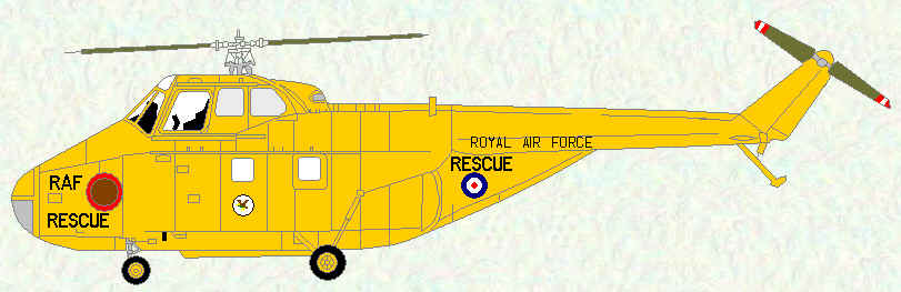 Whirlwind HAR Mk 10 of No 202 Squadron