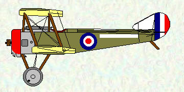 Pup of No 3 Squadron RNAS