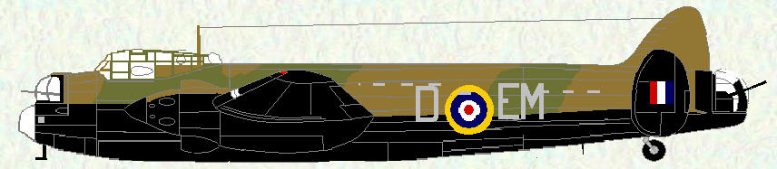 Manchester I of No 207 Squadron
