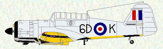 Martinet TT Mk 1 of No 20 Squadron