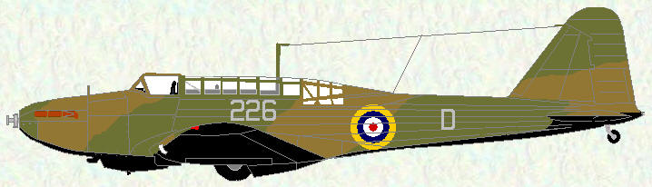Battle I of No 226 Squadron