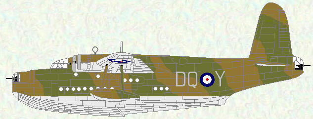 Sunderland I of No 228 Squadron (Invergordon, April 1940)