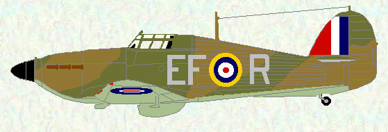 Hurricane I of No 232 Squadron