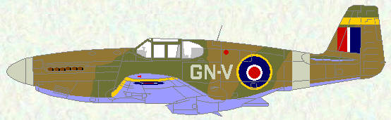 Mustang III of No 249 Squadron