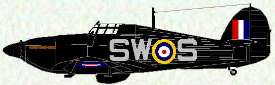 Hurricane IIb of No 253 Squadron