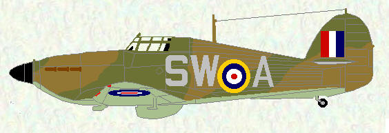 Hurricane I of No 253 Squadron