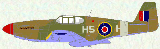Mustang III of No 260 Squadron
