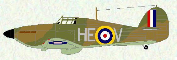 Hurricane I of No 263 Squadron