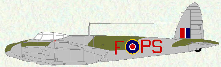 Mosquito XIII of No 264 Squadron