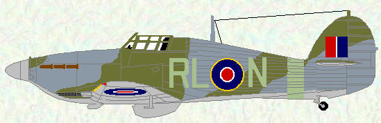Hurricene IIC of No 279 Squadron