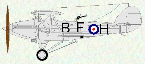 Audax of No 28 Squadron (coded BF)