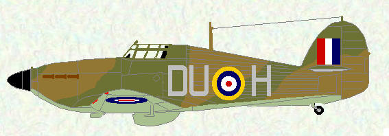 Hurricane I of No 312 Squadron