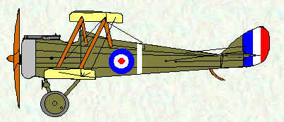 DH5 of No 32 Squadron