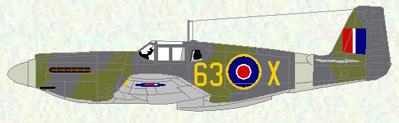 Mustang I of No 400 Squadron (operated by their OTU)