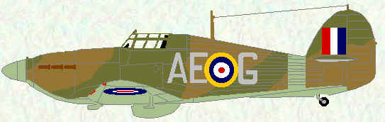 Hurricane IIA of No 402 Squadron (May 1941)