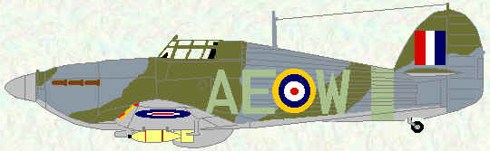Hurricane IIB of No 402 Squadron (1942)