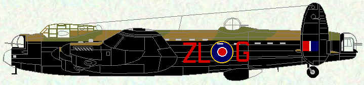 Lancaster III of No 427 Squadron