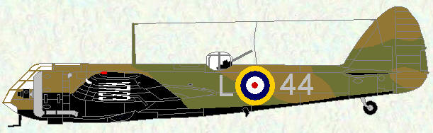Bristol Blenheim of No 44 Squadron