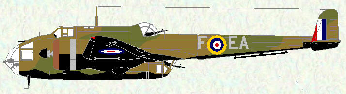 Hampden I of No 49 Squadron